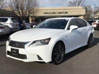 Options:  2014 Lexus Gs 350|Ultra White/Cabernet|V6 3.5
