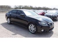 2014 Lexus GS 350. AWD and Black Leather. Navigation!