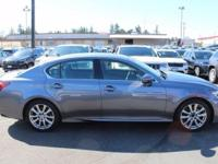 2014 Lexus GS 350. AWD and Light Gray Leather. What are