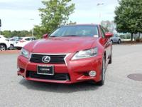 2014 Lexus GS 350 in Riviera Red, SUNROOF / MOONROOF,