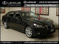 L/ Certified CARFAX 1-Owner LOW MILES - 44 910! GS 350