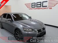 One Owner Lease Return GS 350 F Sport. Navigation. Mark