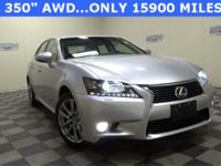 ***CLEAN CARFAX***AWD***GS 350***LEATHER