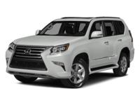 Options:  2014 Lexus Gx 460 4Wd 4Dr|Miles: 39440Color: