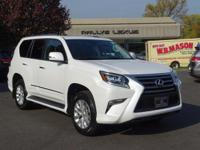 Options:  2014 Lexus Gx 460|Starfire Pearl/Black|V8 4.6