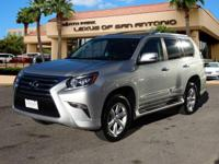 GX 460 trim. CARFAX 1-Owner. Moonroof, Third Row Seat,
