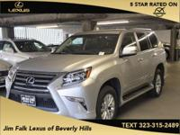 4WD-NAVIGATION-ONE OWNER!!  This GX460 was leased new