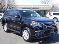Options:  2014 Lexus Gx 460|Black Onyx/Black|V8 4.6 L