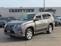 ULTRA CLEAN GX460 AND PRICED TO SELL  Options:  Abs