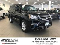 GX 460 trim. CARFAX 1-Owner, Excellent Condition, ONLY