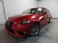 One owner Clean Carfax IS 250 AWD with power heated &