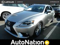 This impressive example of a 2014 Lexus IS 250 is