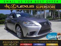 You are currently viewing a 2014 Lexus IS 250 at our