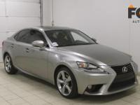 This 2014 Lexus IS 250 is proudly offered by FOX Auto