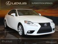 Clean CARFAX. CARFAX One-Owner.  2014 Lexus IS 250 2.5L