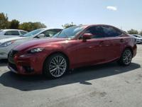 2014 Lexus IS 250 in Red, not a rental, 150 point