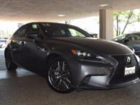 CARFAX One-Owner. Clean CARFAX. Gray 2014 Lexus IS 250