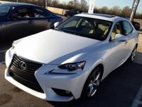 2014 Lexus IS 250. Braking are receptive and steady.