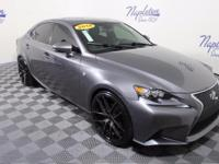 2014 Lexus IS Obsidian AWD, Cloth, Climate Control