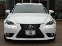 Options:  2014 Lexus Is 250|Starfire Pearl/Light