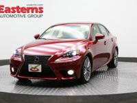 Options:  2014 Lexus Is 250 4Dr Spt Sdn Awd A|Red|2014