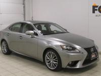 Check out this gently-used 2014 Lexus IS 250 we