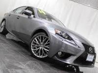 2014 Lexus IS 250. AWD. Gently used. Low miles mean