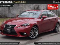 This 2014 Lexus IS 250 4dr 4dr Sport Sedan Automatic