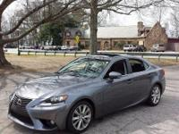 2014 Lexus IS 250. AWD. All the right ingredients! Come