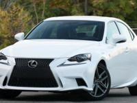 ***LEXUS CERITFIED*** and 2014 Lexus IS 250 F SPORT.