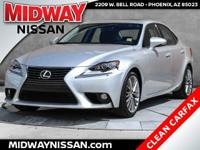 New Price! 2014 Lexus IS 250 Silver Lining Metallic