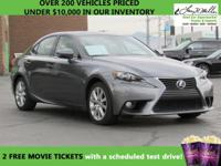 CarFax 1-Owner, LOW MILES, This 2014 Lexus IS 250 4dr