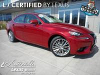 This Lexus IS 250 has a strong Premium Unleaded V-6 2.5