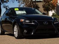 CARFAX 1-Owner! IS 250 trim, Clean! Moonroof, iPod/MP3