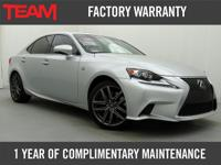 *Carfax One Owner*Very Clean 2014 Lexus IS350 with