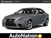 Contact Lexus of Cerritos today for info on dozens of