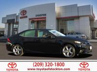 Options:  2014 Lexus Is Sedan 350|Obsidian|3.5L V6 Dohc