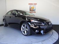 Options:  2014 Lexus Is 350 4Dr Sdn Rwd|Obsidian/|V6