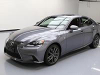 2014 Lexus IS with F Sport Package,Navigation