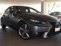 CARFAX One-Owner. Clean CARFAX. GRAY 2014 Lexus IS 350