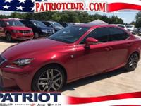 Red and Ready! Drive this home today! Save thousands!!