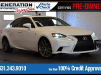 Ultra White 2014 Lexus IS 350 AWD 6-Speed Automatic