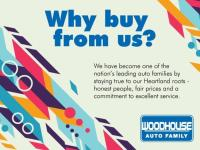 Experience the difference with Woodhouse Auto Family