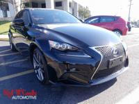 Safe and reliable, this Used 2014 Lexus IS 250 lets you