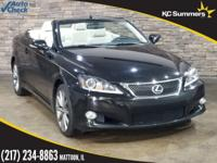 2014 Lexus IS Obsidian Accident Free Auto Check