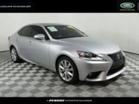 CARFAX One-Owner. Clean CARFAX. 2014 Lexus IS 250 RWD