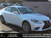 **2014 LEXUS IS 250** **L/CERTIFIED** **NAVIGATION**