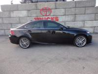 Obsidian 2014 Lexus IS 250 AWD 6-Speed Automatic