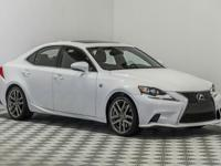 This 2014 IS350 F-Sport is one of the best sport sedans