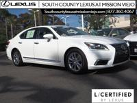L/CERTIFIED BY LEXUS * Recent Arrival! CARFAX
